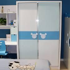 Sliding Door Bedroom Furniture Buy Mhj Childrens Wardrobe Sliding Door Wardrobe Closet Mi Qila