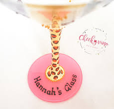martini glass painting hand painted u0026 personalised cocktail glass u0027girls night u0027