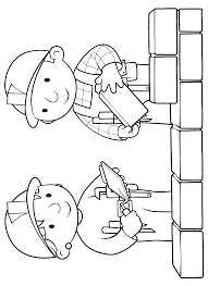 bob the builder coloring pages and pictures u2013 lets build print