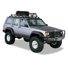 jeep open roof bushwacker jeep cherokee sport utility 1984 2001 cut out
