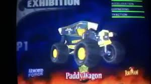 monster truck video game paddy wagon maximum destruction monster trucks wiki fandom