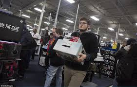 best place to buy xbox one on black friday brawls and arrests on u0027gray thursday u0027 overshadow quiet black