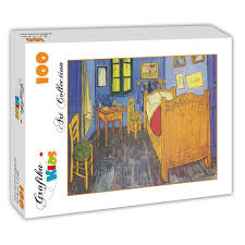 la chambre a arles puzzle vincent gogh la chambre de gogh à arles 1888