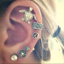 earrings for second second lobe earring on the hunt