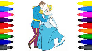 cinderella prince charming coloring pages coloring disney