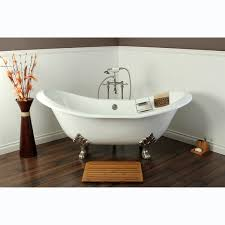 slipper cast iron 72 inch clawfoot bathtub free shipping