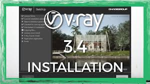 how to install vray 3 4 beta for sketchup and fix common errors