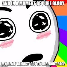 Rainbow Meme - surprised rainbow face meme generator imgflip
