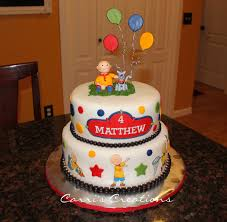 caillou birthday cake caillou birthday cakecentral