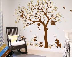 Animal Wall Decals For Nursery Nursery Tree Decal Forest Forest Animals Wall Stickers