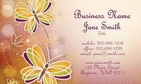 Beauty Spa Business Cards Retro Hair Stylist Business Card Design 601141