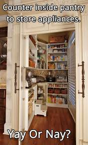 Kitchen Pantry Ideas by Best 25 Corner Pantry Ideas On Pinterest Pantry Master Closet