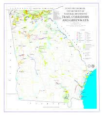 Maps Of Georgia File Map Of Trails Of Georgia Png Wikipedia