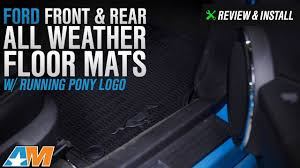 2011 ford mustang floor mats 2011 2014 mustang ford front rear all weather floor mats w