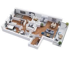 plan appartement 3 chambres the k bouygues immobilier belgique