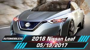 nissan leaf lease 2017 2018 nissan leaf teased 05 19 2017 automobile 5s youtube