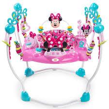 table d activité bébé avec siege table d activités jumperoo minnie mouse de disney baby