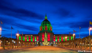 christmas lights san francisco a city hall christmas funcheapsf com