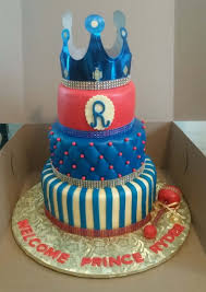 prince baby shower cake 3 tier royal prince baby shower cake cakecentral