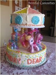 brimful curiosities wordless wednesday my little pony birthday cake
