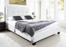 Leather Ottoman Bed Kaydian Walkworth Ottoman Storage Bed White Leather Ottoman