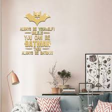 Mirror Wall Decals And Wall by Creative Gold Mirror Paste 3d Crystal Decorative Stickers Can