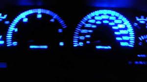 99 dodge ram led lights dodge ram blue led dash lights mod