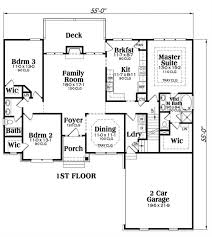 and bathroom house plans ranch country home with 3 bdrms 1732 sq ft house plan 104 1014
