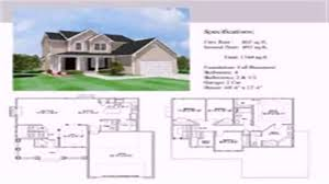 2 story house floor plan with dimensions youtube
