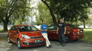 nissan almera malaysia review honda city 2016 vs kia rio sedan 2016 roda pusing review youtube