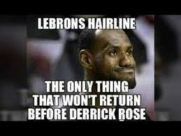 Meme Lebron James - lebron james hairline memes youtube