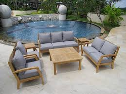 lakeview modern cast aluminum patio furniture conversation set for