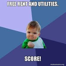 Make A Meme For Free - free rent and utilities score success kid make a meme