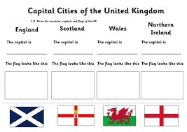 capitals of the uk ks1 by gill4611 teaching resources tes