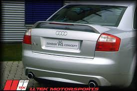 audi a4 spoiler zender bodykit styling for the audi a4 b6 and s4 b6 direct from