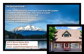 fedex thanksgiving hours copies u0026 shipping mount shasta pages of mt shasta