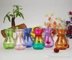 Purple Vases Cheap Colorful Glass Vase Aquatic Plant Flower Pot Water Hyacinth Glass