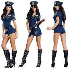 Halloween Costumes Police Aliexpress Buy Stylish Female Police Officer Uniform