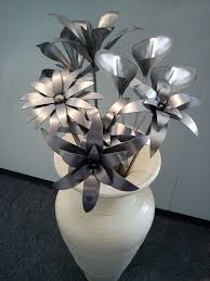 metal flowers 63 best metal flowers images on welding projects