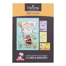 peanuts birthday inspirational boxed cards office