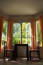 kitchen bay window curtain ideas decoration ideas bay window curtain ideas with view outside