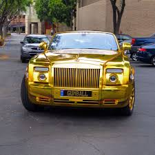 gold rolls royce rolls royce wrapped gold madwhips