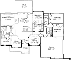 house plans one level one level design plus finished basement 3930st architectural