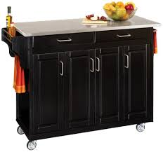 Black Distressed Kitchen Island by Amazon Com Home Styles 9200 1063 Create A Cart 9200 Series