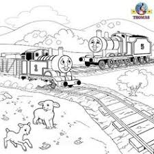 simple thomas train coloring pages thomas train coloring