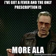 Fever Meme - i got a fever meme generator