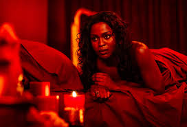american gods american gods yetide badaki on the finale and bilquis collider
