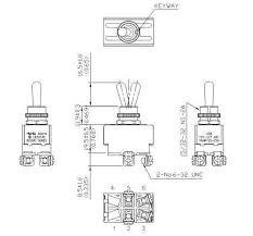 toggle switch heavy duty motor rated dpst on off