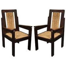 Wooden Armchairs Rush Armchairs 45 For Sale At 1stdibs