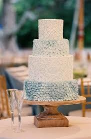 prettiest blue wedding cake we ever did see mon cheri bridals